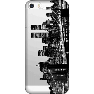 New York City Clear Case for Apple Iphone 5s