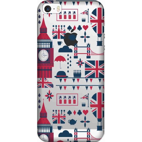 Big Ben London Clear Case for Apple Iphone 5s