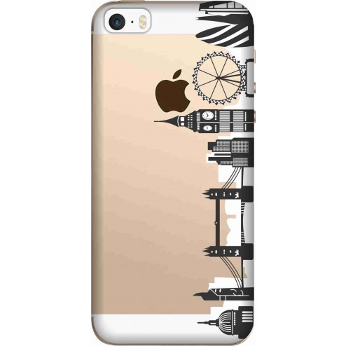 London city clear case for apple Iphone 5
