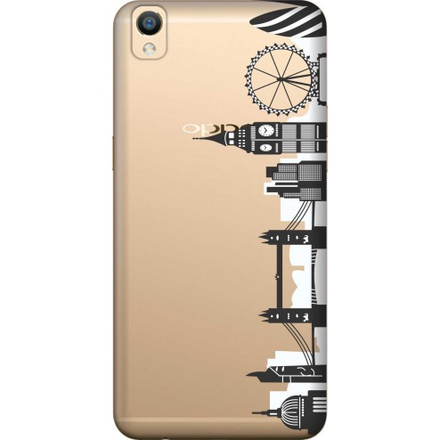 London City Clear Case for Oppo F1 Plus