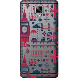 big ben london clear case for oneplus 3