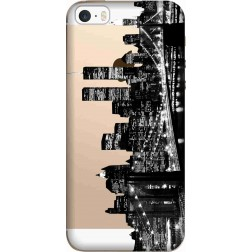 New york city skyline clear case for apple iphone 5