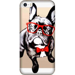 Wicked Bulldog Clear Case for Apple Iphone 5