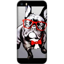 Wicked bulldog Clear Case for Apple Iphone 5S