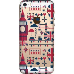 big ben london clear case for Apple iphone 5