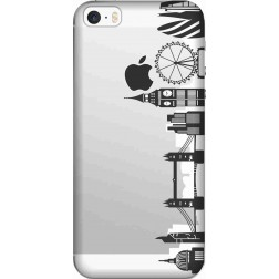 London city Clear case for Apple Iphone 5S