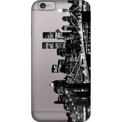 New York City Clear Case for Apple iphone 6
