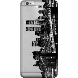 New York City Clear Case for Apple Iphone 6Plus