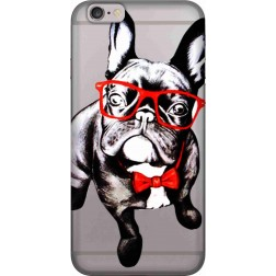 Wicked bulldog Clear Case for Apple iphone 6