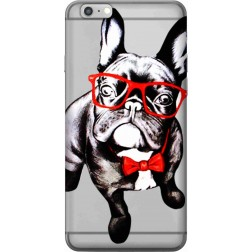 Wicked bulldog Clear Case for Apple Iphone 6s Plus