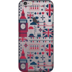 Big Ben London Clear Case for Apple iphone 6