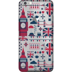 Big Ben London Clear Case for Apple iphone 6 Plus
