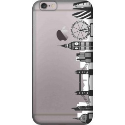 London city clear case for Apple iphone 6