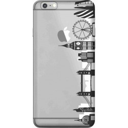 London city clear case for Apple Iphone 6s Plus