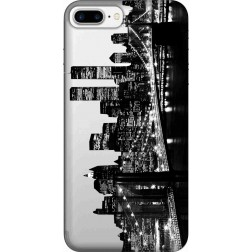 New York City Clear Case for Apple iphone 7 Plus