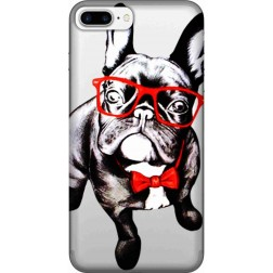 Wicked bulldog Clear Case for Apple Iphone7 Plus