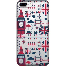 Big Ben London Clear Case for Apple iphone 7 Plus