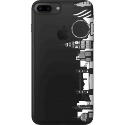 London city clear case for  Apple iphone 7 Plus