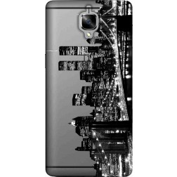 New york city skyline clear case for oneplus 3