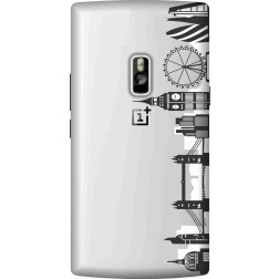 London city clear case for Oneplus 2