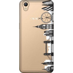 London City Clear Case for Oppo A37
