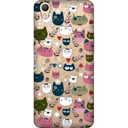 Cute Lil Cats Clear case for Oppo A37