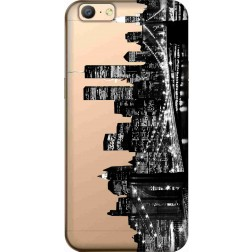 New York City Clear Case for Oppo A57