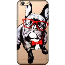 Wicked Bulldog Clear Case for Oppo A57