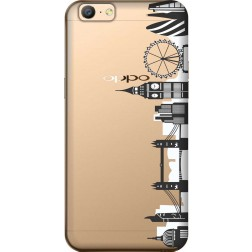 London City Clear Case for Oppo A57
