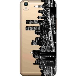 New York City Clear Case for Oppo F1 Plus