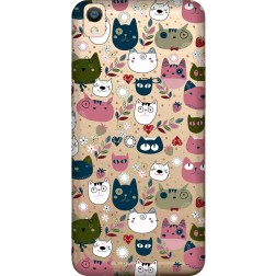 Cute Lil Cats Clear case for Oppo F1 Plus