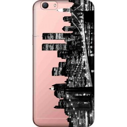 New York City Clear Case for Oppo F1s