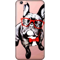 Wicked Bulldog Clear Case for Oppo F1s