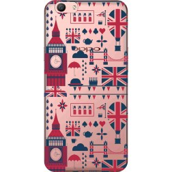 Big Ben London Clear Case for Oppo f1s