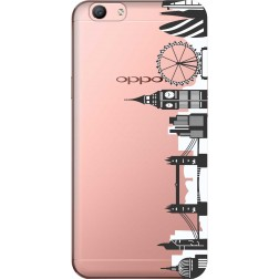 London City Clear Case for Oppo F1s