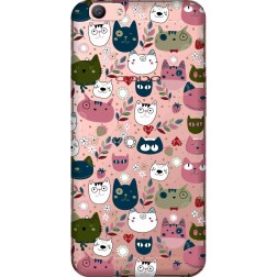 Cute Lil Cats Clear case for Oppo F1s