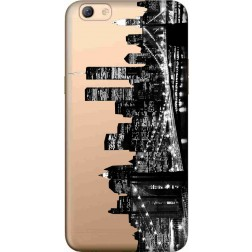 New York City Clear Case for Oppo F3  Plus