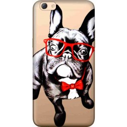 Wicked Bulldog Clear Case for Oppo F3 Plus