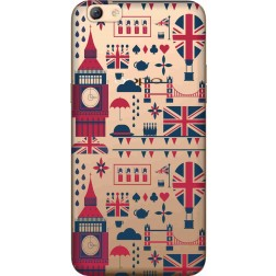 Big Ben London Clear Case for Oppo f3 Plus