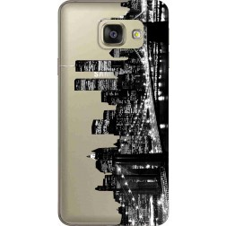 New York City Clear Case for Samsung Galaxy A7 2016
