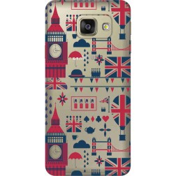 Big Ben London Clear Case for Samsung Galaxy A7 2016
