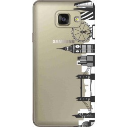 London City Clear Case for Samsung Galaxy A7 2016