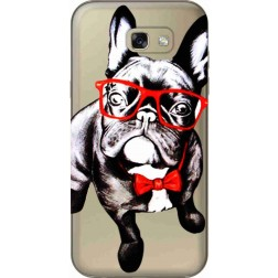 Wicked Bulldog Clear Case for Samsung Galaxy A7 2017