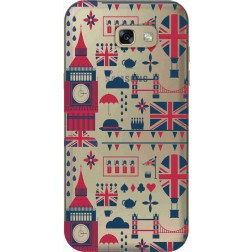 Big Ben London Clear Case for Samsung Galaxy A7 2017
