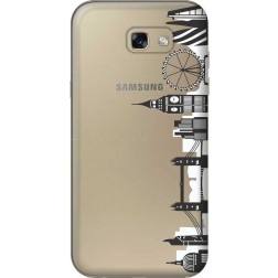 London City Clear Case for Samsung Galaxy A7 2017