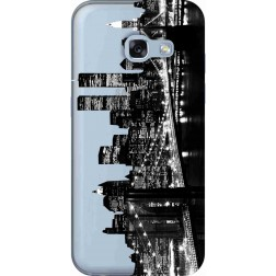 New York City Clear Case for Samsung Galaxy A3 2017