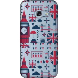 Big Ben London Clear Case for Samsung Galaxy A3 2017