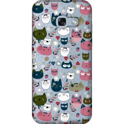 Cute Lil Cats Clear Case for Samsung Galaxy A3 2017