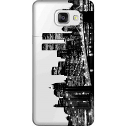 New York City Clear Case for Samsung Galaxy A5 2016