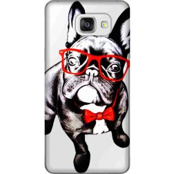 Wicked Bulldog Clear Case for Samsung Galaxy A5 2016